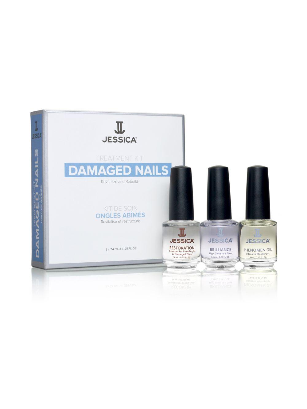Jessica Cosmetics Treatment Kit Damaged Nails 1