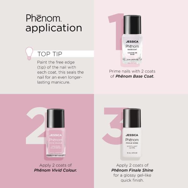 Jessica Phenom Nail Polish Application