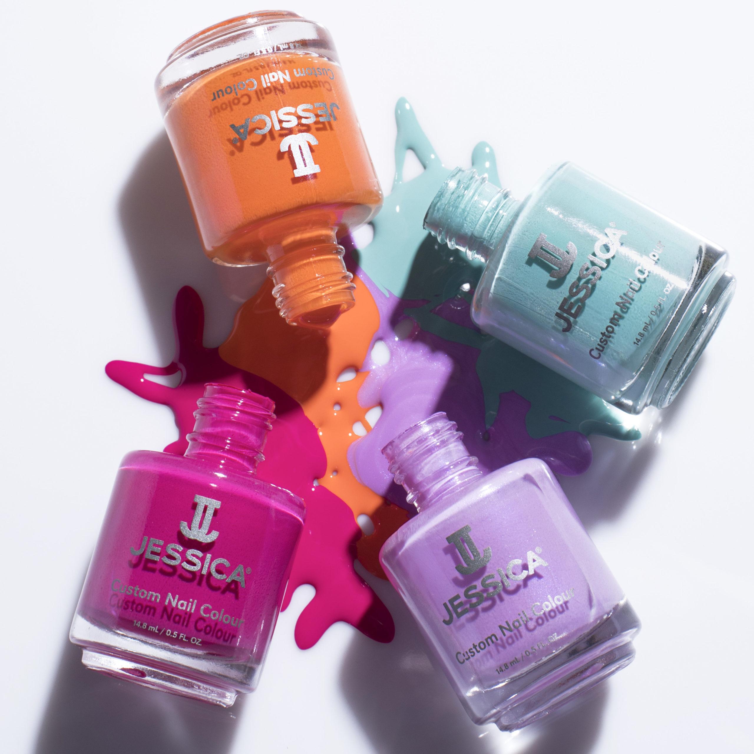 Jessica Custom Colour Nail Polish group shot